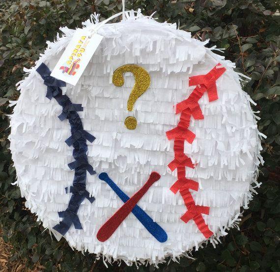 Listo para nave béisbol tema género revelan 16 por Theperfectpinata