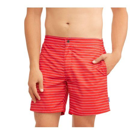 Big Men's Stripe Swim Trunk | Products | Swim trunks, Trunks