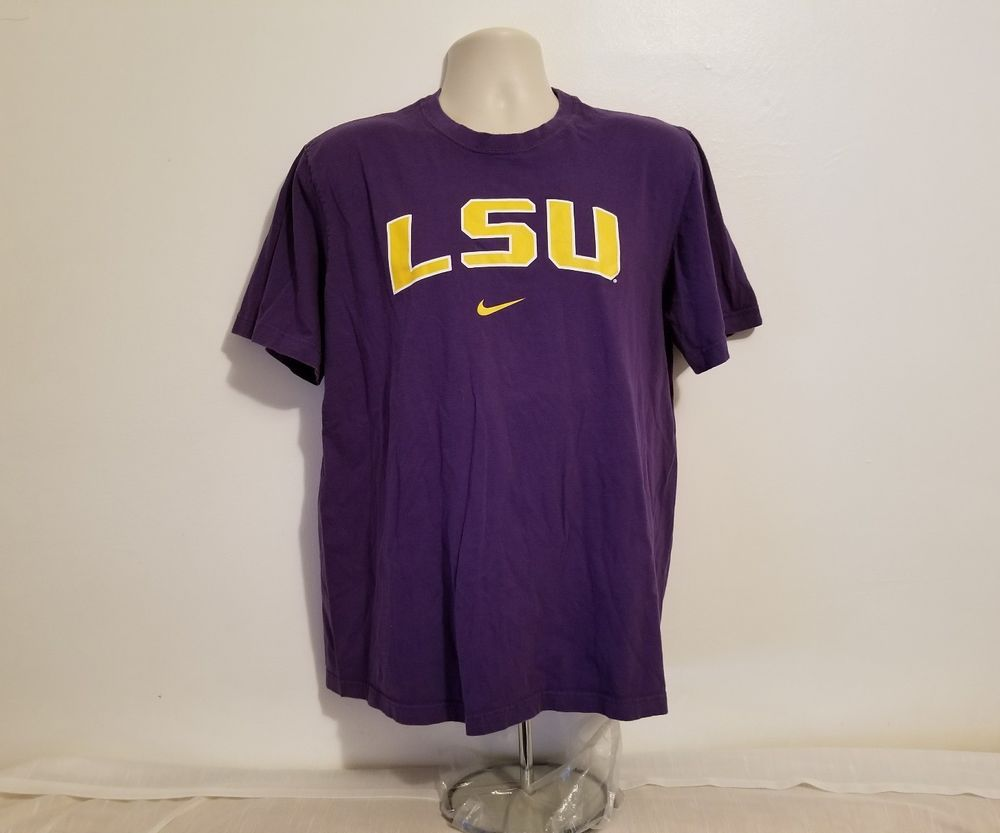 premium selection c6a32 92bc6 Nike Lsu Baseball T Shirt