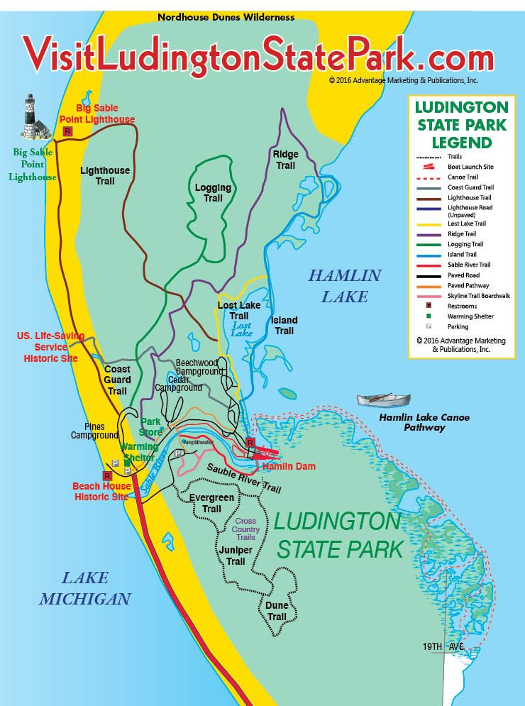 Ludington State Park Trail Guide Map   MY MICHIGAN in 2019 ... on map of northern michigan, map of mi on ludington michigan, map of michigan cities, map of ludington mich, map of hamlin lake ludington mi, map of eastern shoreline, map of western michigan, map of mason michigan, map of lower michigan counties, map of ludington michigan ward, map of michigan ludington state park campground, map of pentwater mi, map of ludington hotels,