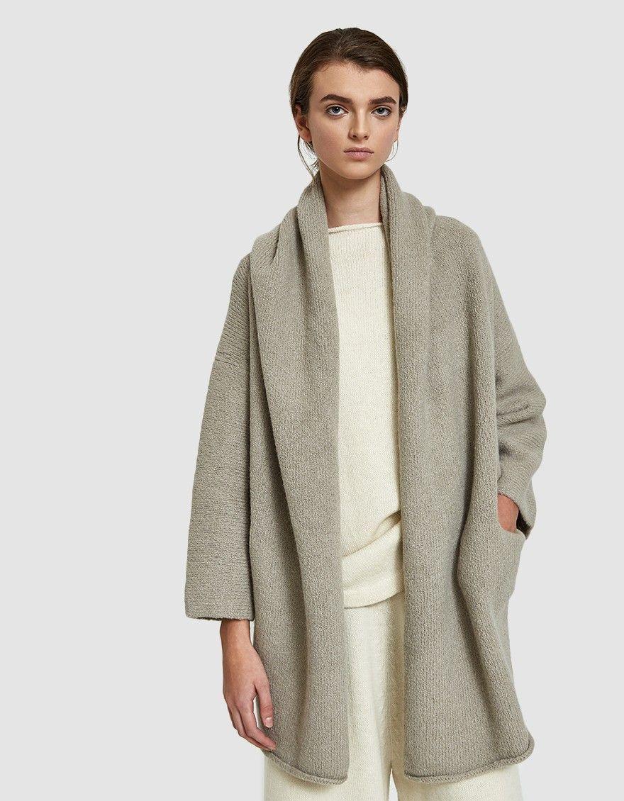 3c6c79ab5 Lauren Manoogian   Capote Coat in Cement