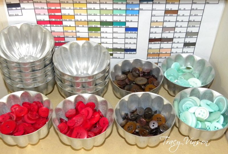 Button Holders Sewing Notions Diy Jello Molds