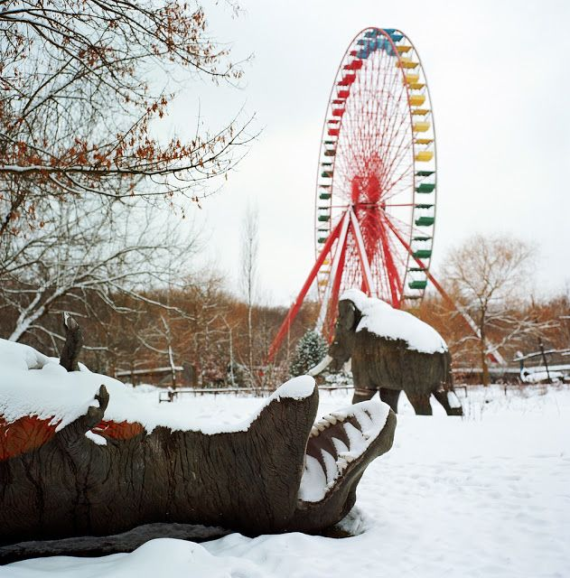 Deserted Places: Spreepark: An Abandoned Amusement Park In