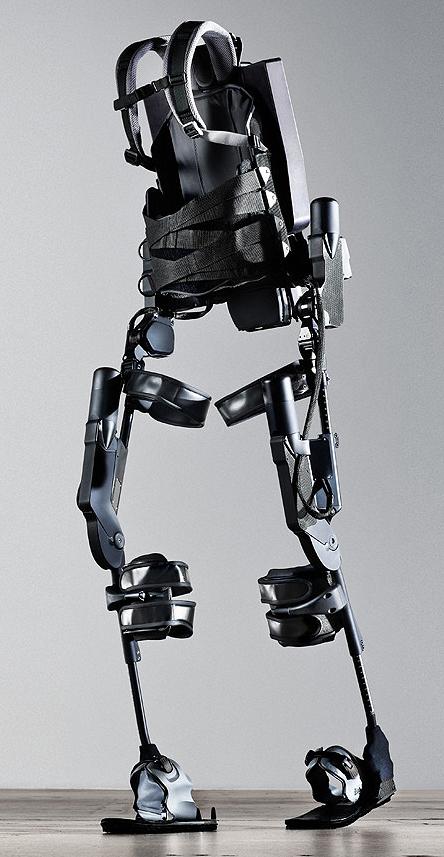 Kessler Foundation Ekso exoskeleton allowing traumatic