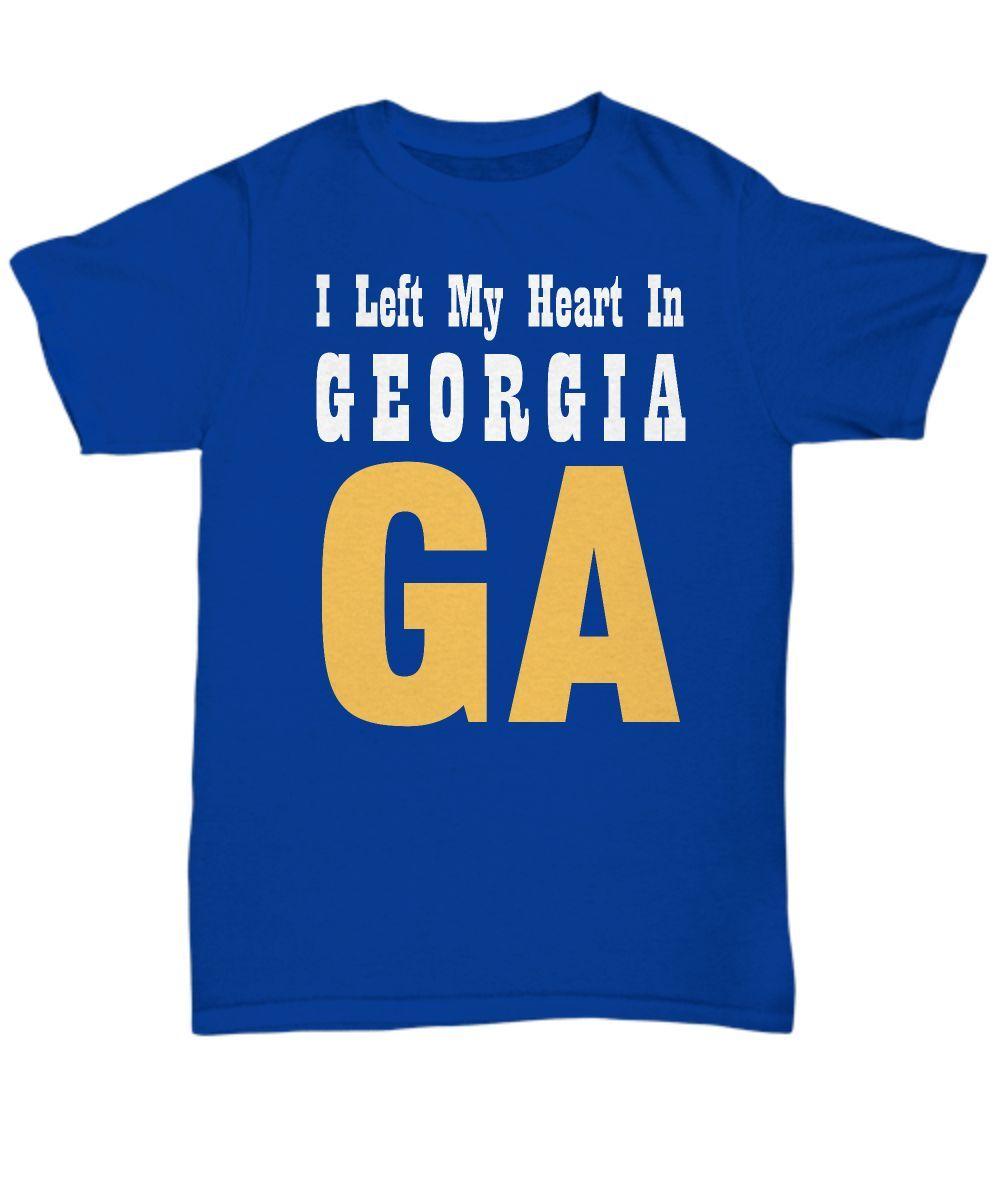 Heart In Georgia - T-Shirt