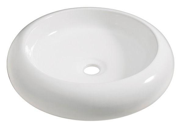 Waschtisch Obi.Aufsatzwaschbecken Imia 45 X 45 Cm Rund Waschbecken