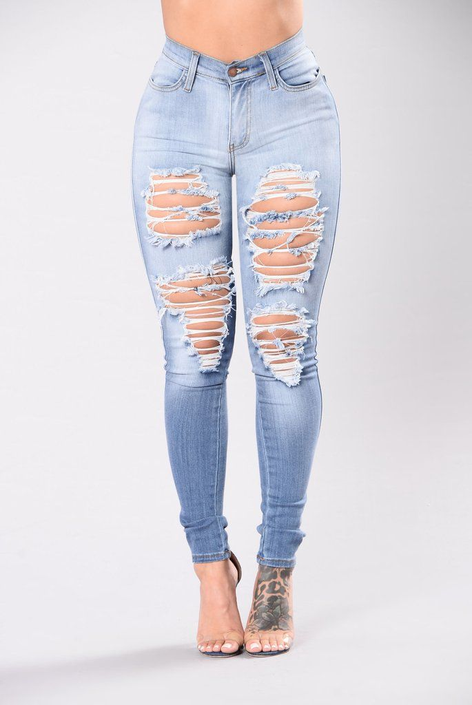 99fc81117b3a Casual Girl Jeans - Light Wash