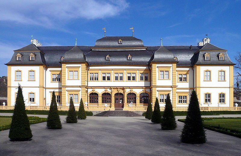Castle Veitshöchheim near Wuerzburg, Germany summer home