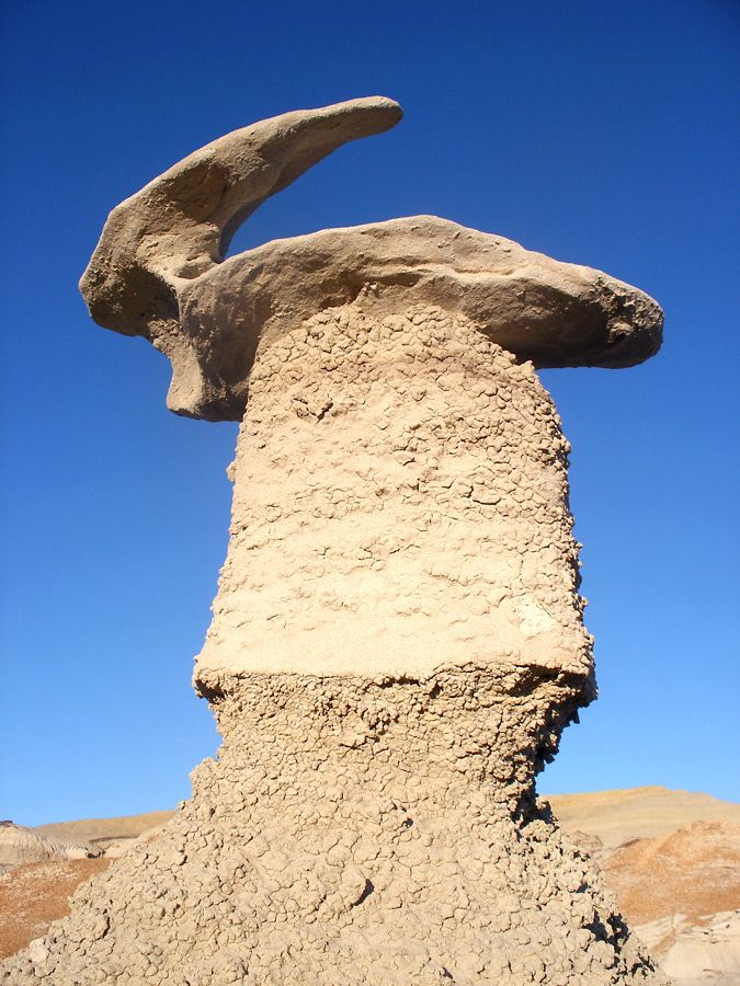 Hoodoo -- Bisti Wilderness, Navajo Land