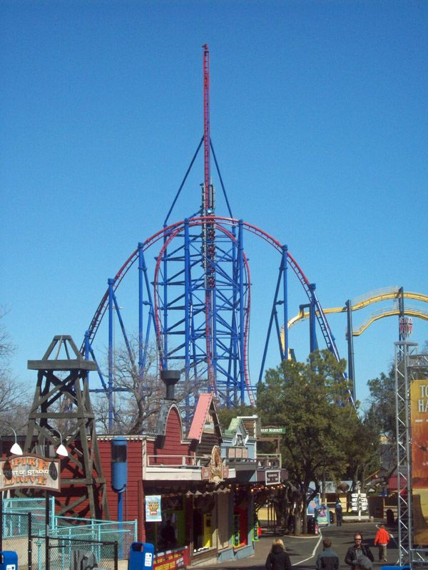 Mr Freeze Six Flags Over Texas Six Flags Over Texas Six Flags Thrill Ride