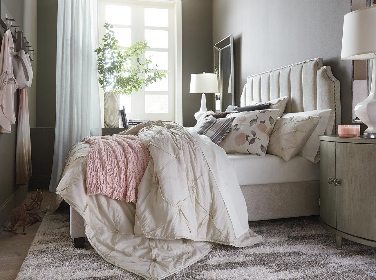 Area Rug Placement and Rug Sizes Under Queen Bed