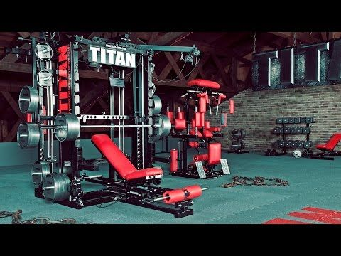 Titan T1 X Ultimate Gym Machine Unlimited Workout Possibilities Gym Machines At Home Gym Home Gym Machine
