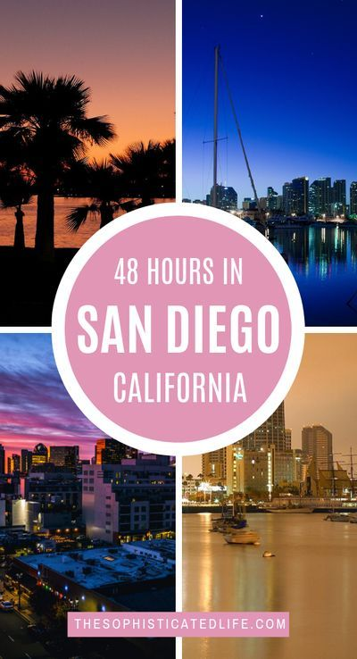 This is a jam packed 2 day itinerary for San Diego California. Get some delicious food in Old Town, Relax on the beach on Coronado Island, stroll through Balboa Park, visit the restaurants and clubs in the Gaslamp district, take a stroll on the Marina, take a day trip to La Jolla, San Diego restaurants, San Diego attractions, visit San Diego, San Diego travel tips #SanDiego #SanDiegoCalifornia #California #LaJolla #CoronadoIsland
