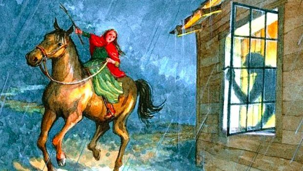 paul revere on his horse in color 68249 timehd