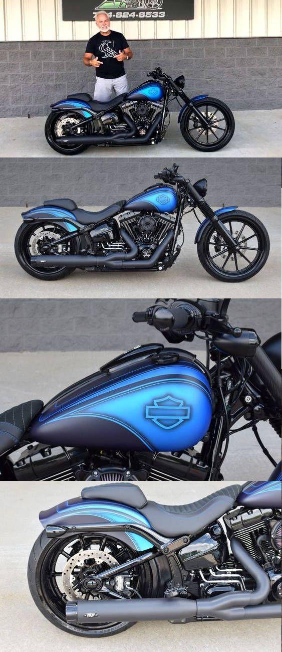Harley Davidson Softail Breakout Custom Bike Von The Bike Exchange