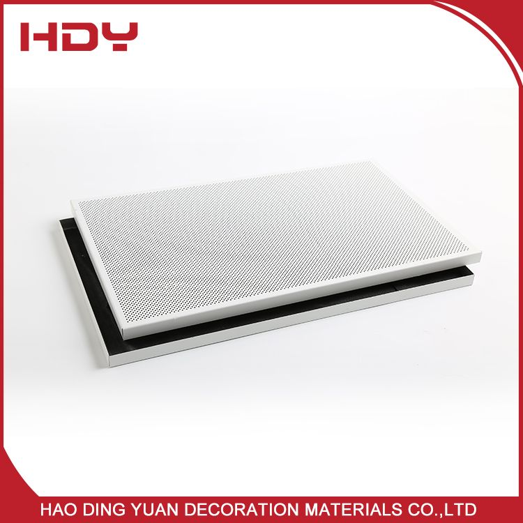 Architectural Design 600x600 Perforated Aluminum Ceiling Tiles