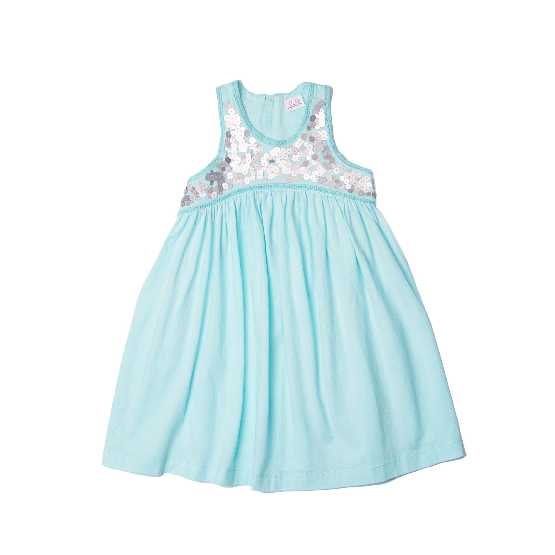 Empire Waist Sequin Cotton Dress   egg by susan lazar   http://www.egg-baby.com/shop/empire-waist-cotton-dress/