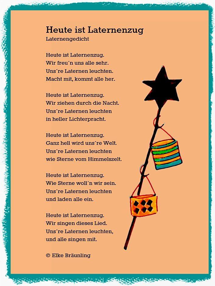 Heute ist Laternenzug   Geschichten für kinder, Gedichte für