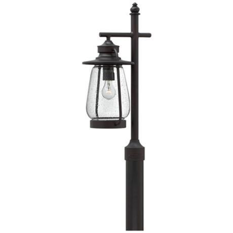 Hinkley calistoga 26 high bronze outdoor post light 3j433 hinkley calistoga 26 high bronze outdoor post light 3j433 lampsplus aloadofball Choice Image