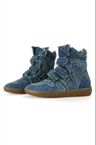 Denim high tops