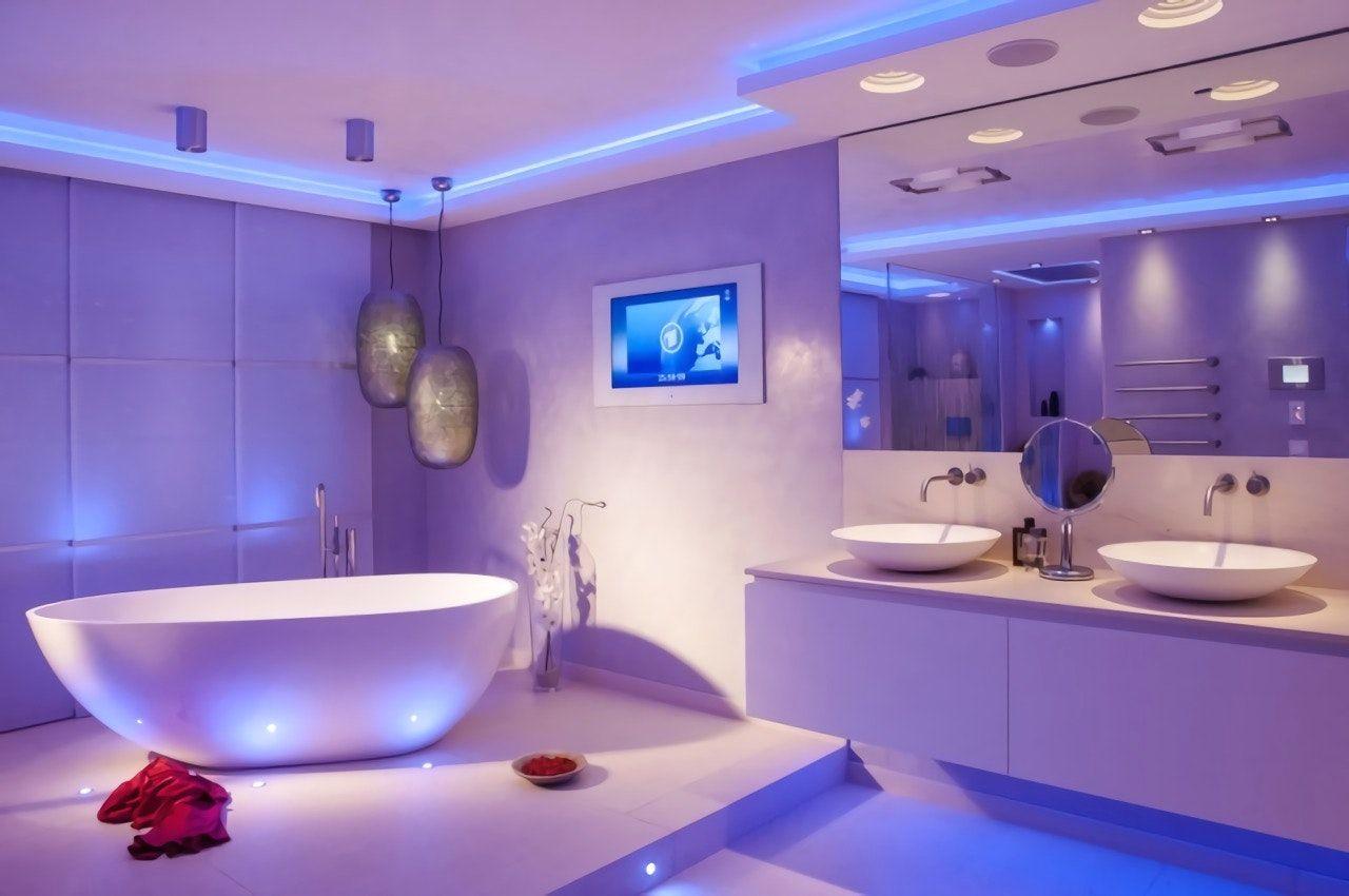 Deckenbeleuchtung Badezimmer ~ Mobel und dekoration led beleuchtung im badezimmer mit awesome