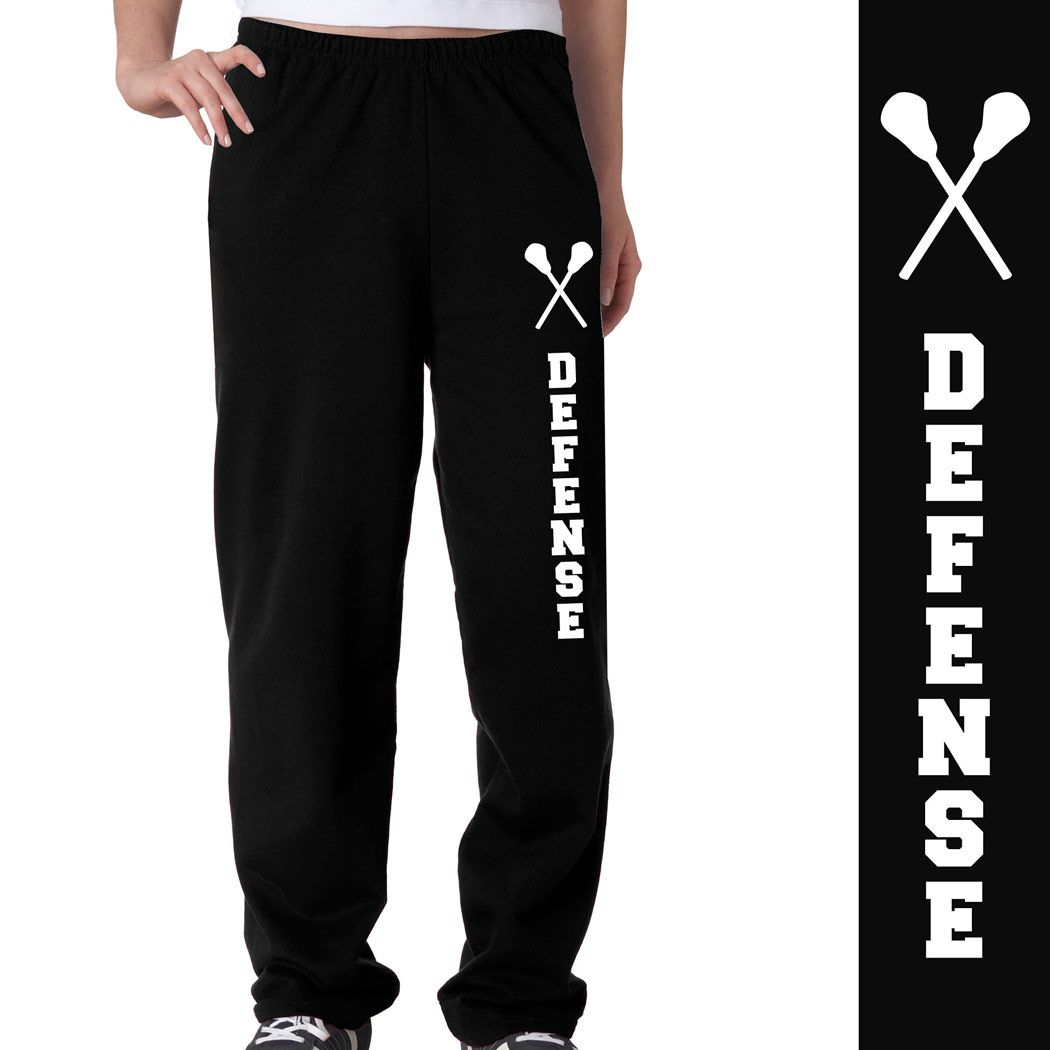 Lacrosse Defense Fleece Sweatpants Lacrosse Sweatpants Softball Sweatpants Volleyball Outfits Volleyball Sweatpants