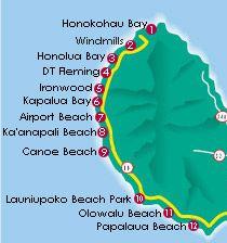 West maui beach map maui places spaces pinterest maui west maui beach map sciox Gallery