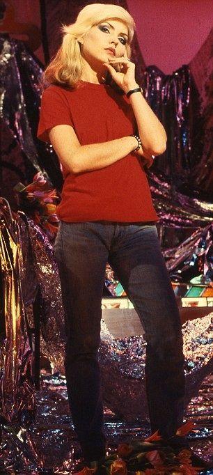 Debbie in red 1978