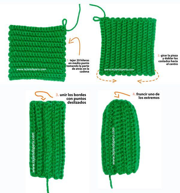 Cómo hacer un amigurumi: cáctus amigurumi | Amigurumis, cactus ...