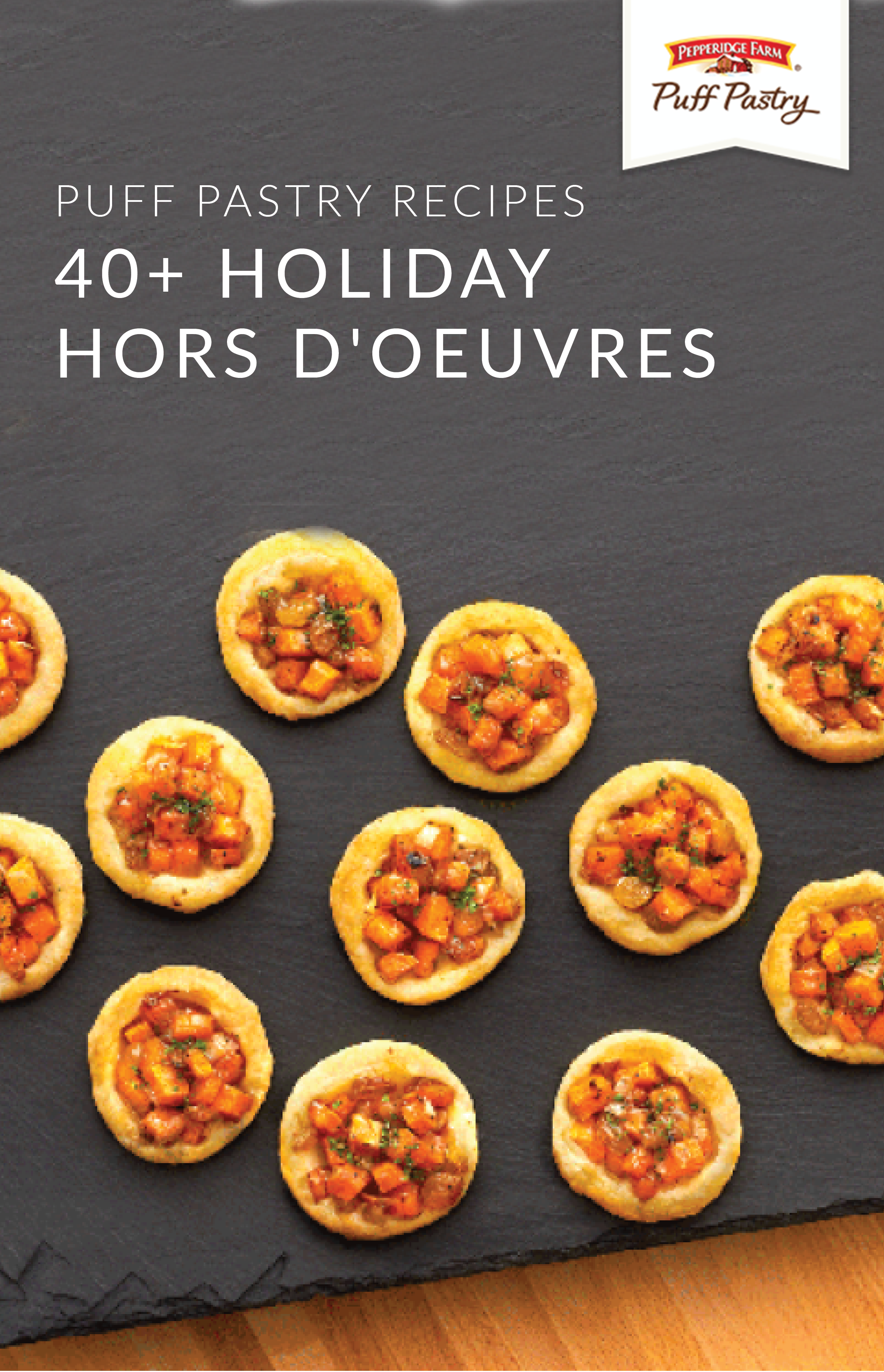 The best part of this collection of 40 holiday hors doeuvres is the best part of this collection of 40 holiday hors doeuvres is that they use flaky pepperidge farm puff pastry sheets in each recipemeaning every bite forumfinder Image collections