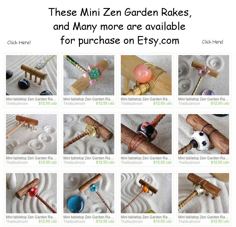 Products I Like Customized Zen Garden Rakes Mini Zen Garden Zen