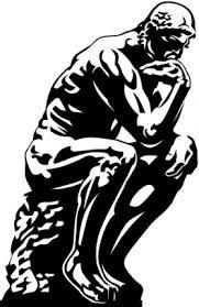 Resultat De Recherche D Images Pour Le Penseur De Rodin En Dessin Rodin Dessin Penseur