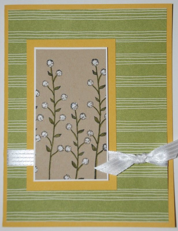 Flowering Fields Card by stampinrachel - Cards and Paper Crafts at Splitcoaststampers