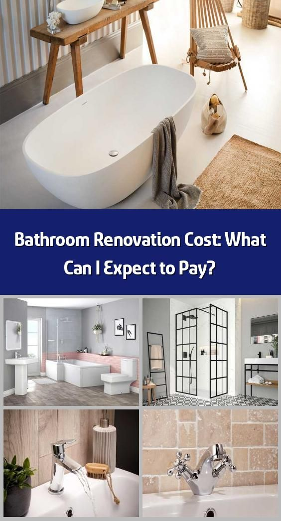 bathroom renovation cost: what can i expect to pay