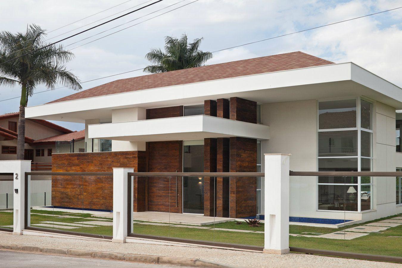 Fachadas de casas lindas e de diferentes estilos veja for Estilos de casas contemporaneas