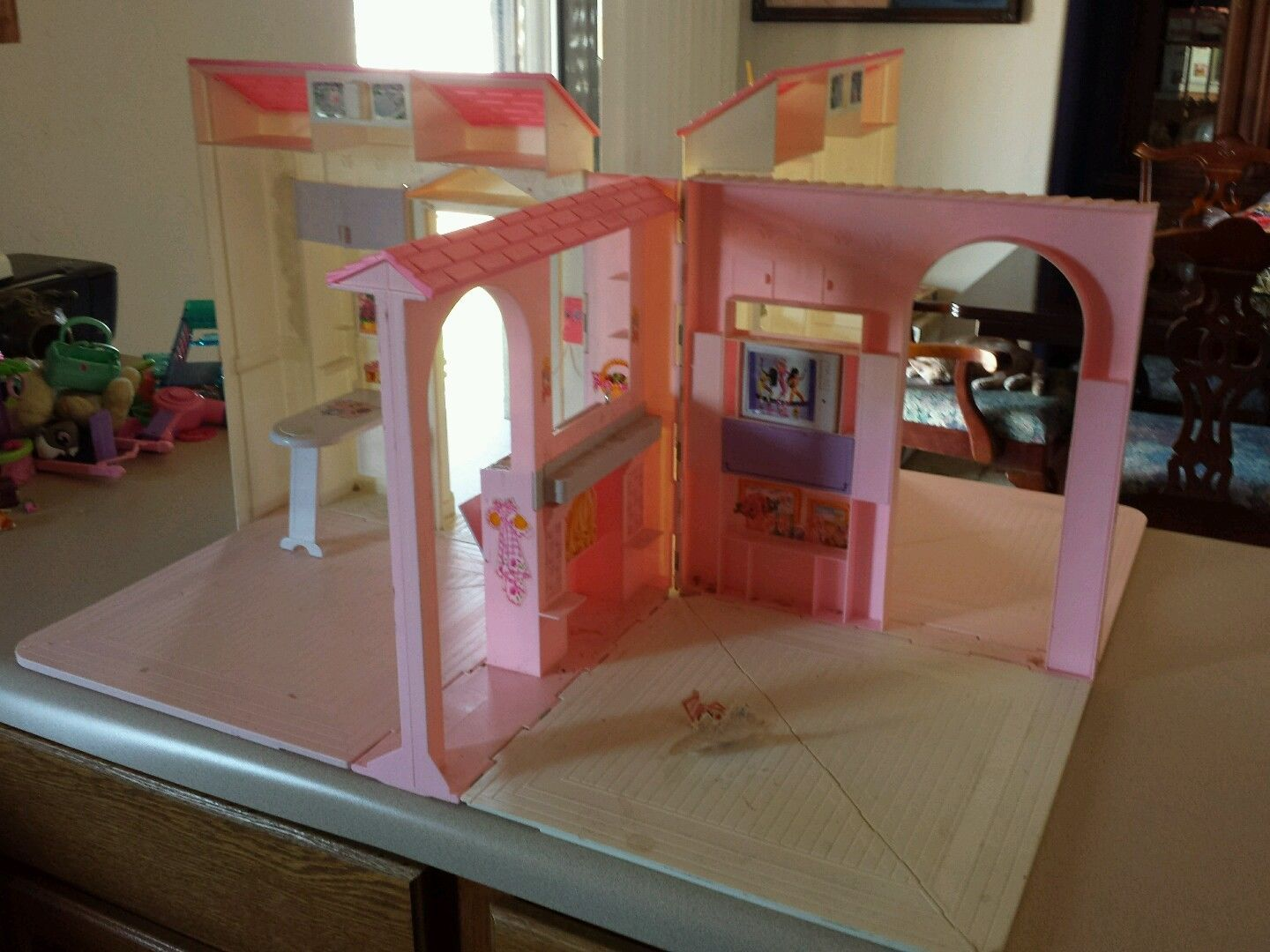 1996 Vintage Mattel Barbie Tri Fold Out