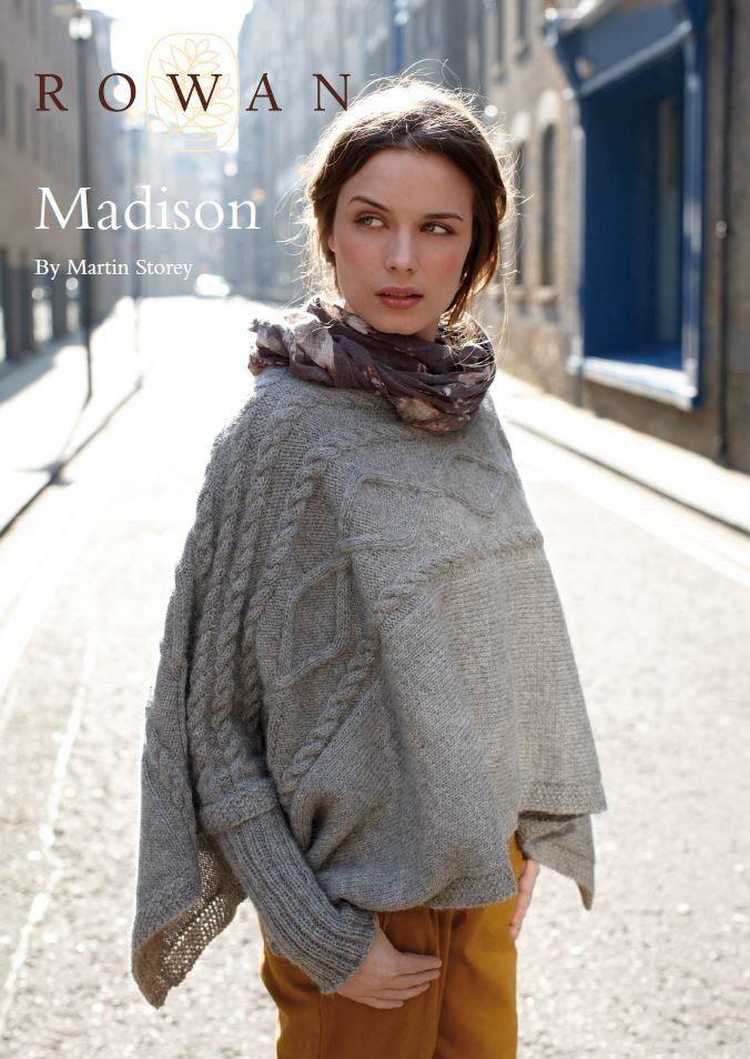 Madison By Martin Storey Free Pattern Tricot Jackets Ponchos