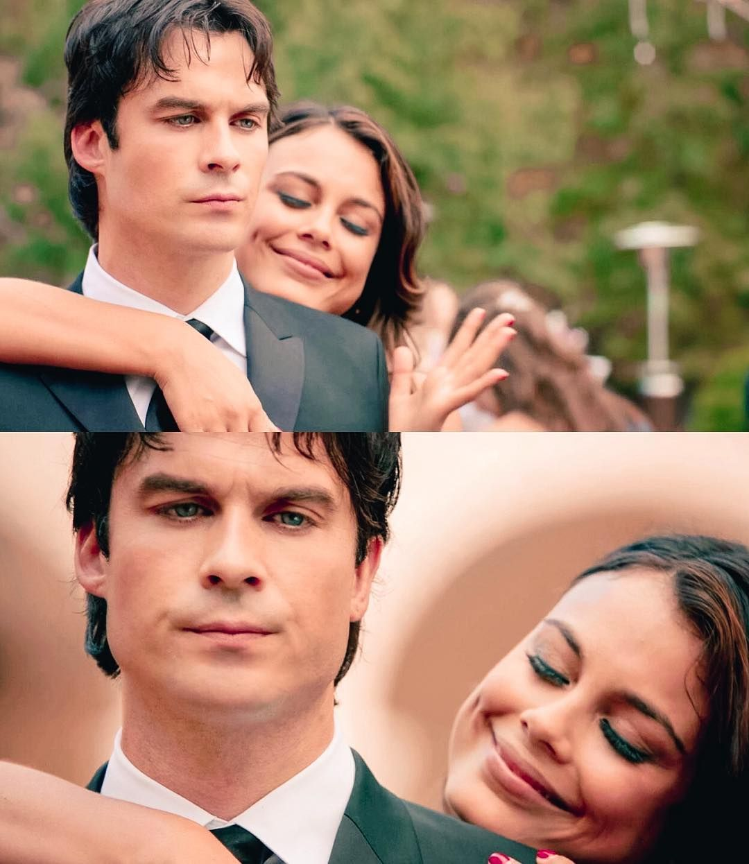 """#TVD 8x09 """"The Simple Intimacy of the Near Touch"""" - Damon and Sybil"""