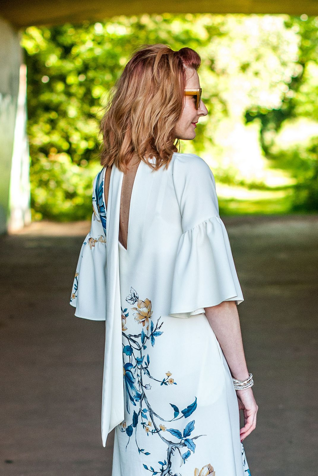 Wedding guest or garden party outfit: Marks & Spencer floral midi dr ...