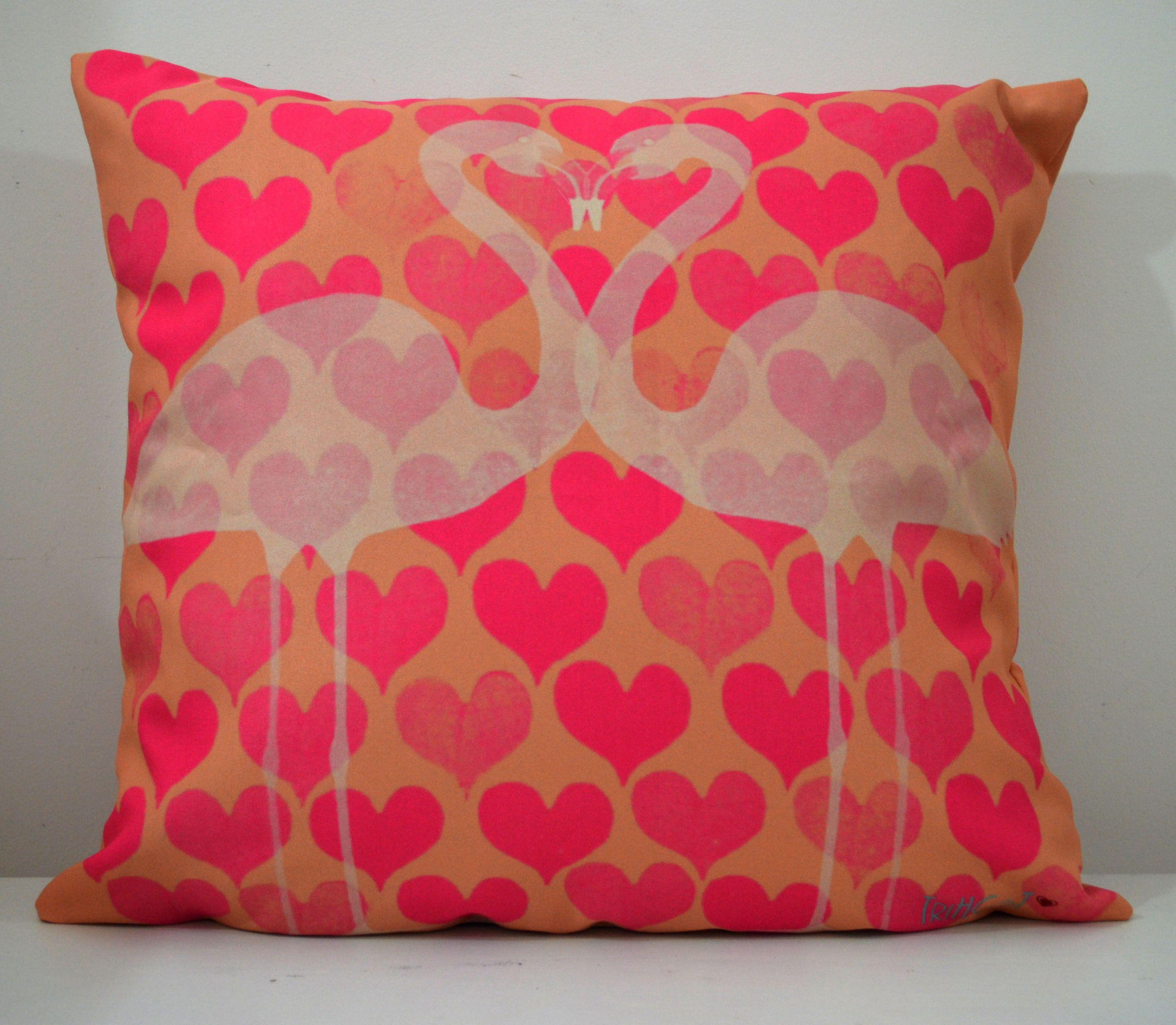 Almofada Flamingo www.trihcot.com