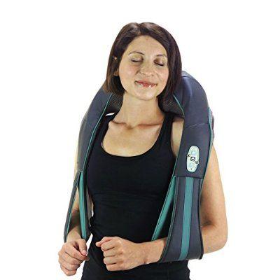 truMedic Instashiatsu Plus Neck and Shoulder Massager, Teal, 1 Count
