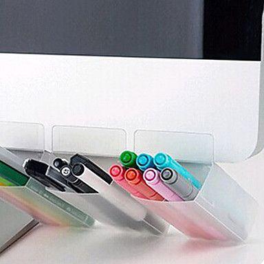 monitor+de+computador+do+escritório+caixa+de+armazenamento+organizador+caneta+portátil+de+mesa+recipiente+para+uma+única+entrada+–+BRL+R$+10,11