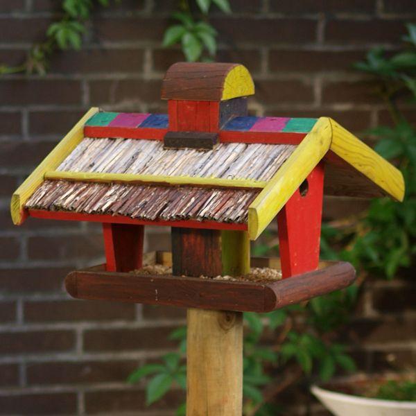 Vogelfutterhaus bauen Bauanleitungen für Futterhäuschen