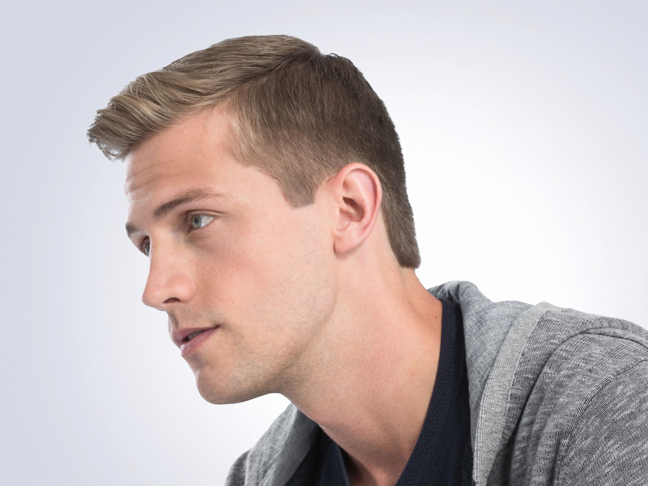 pin on men's clipper cut