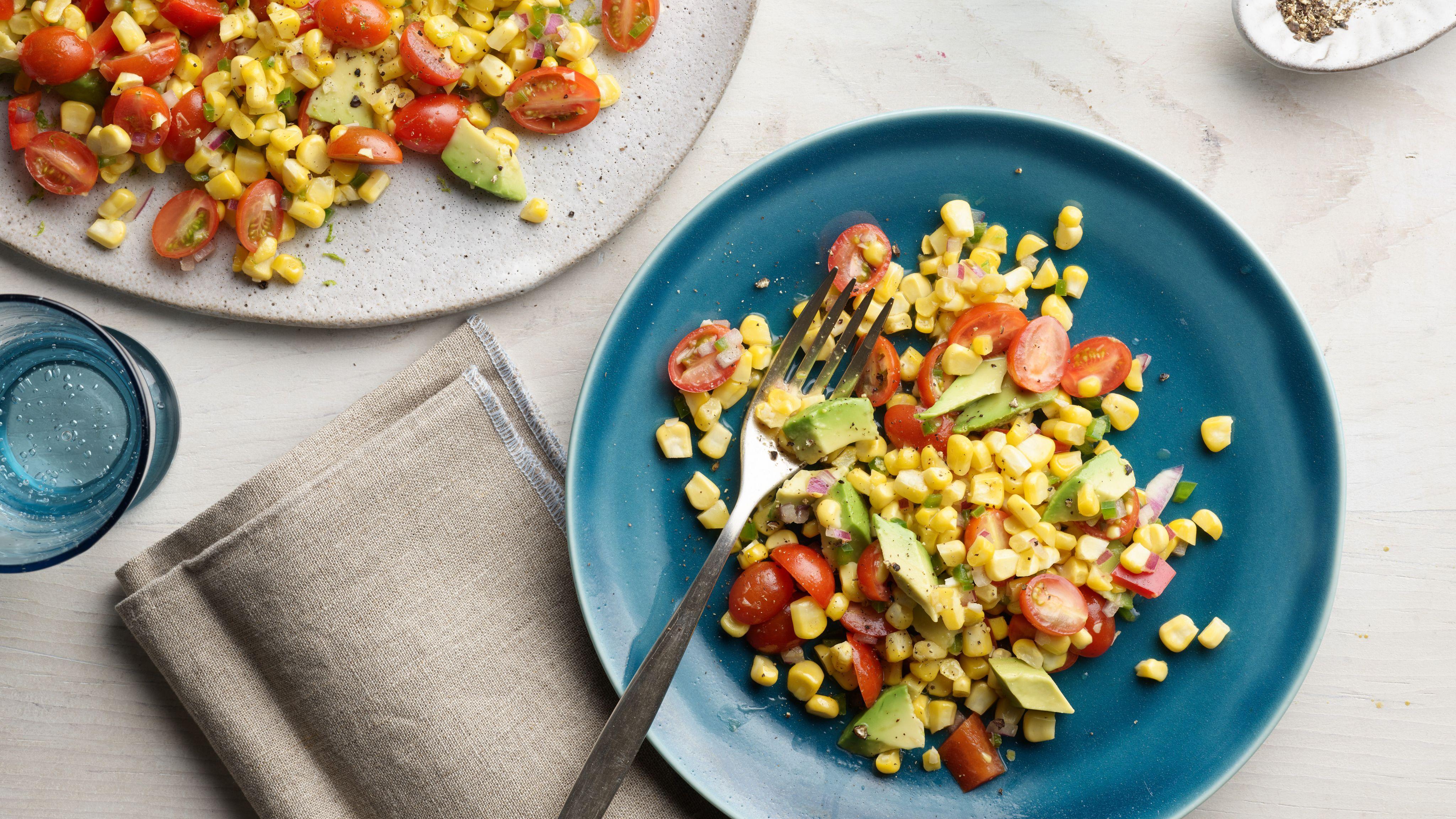 Corn And Avocado Salad Recipe Recipes Ina Garten