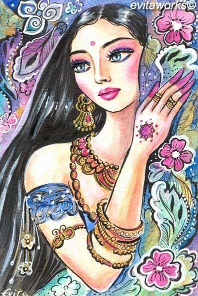 Ilustraciones femeninas  - Página 9 0098b067a877a049c2d64c48b1444505