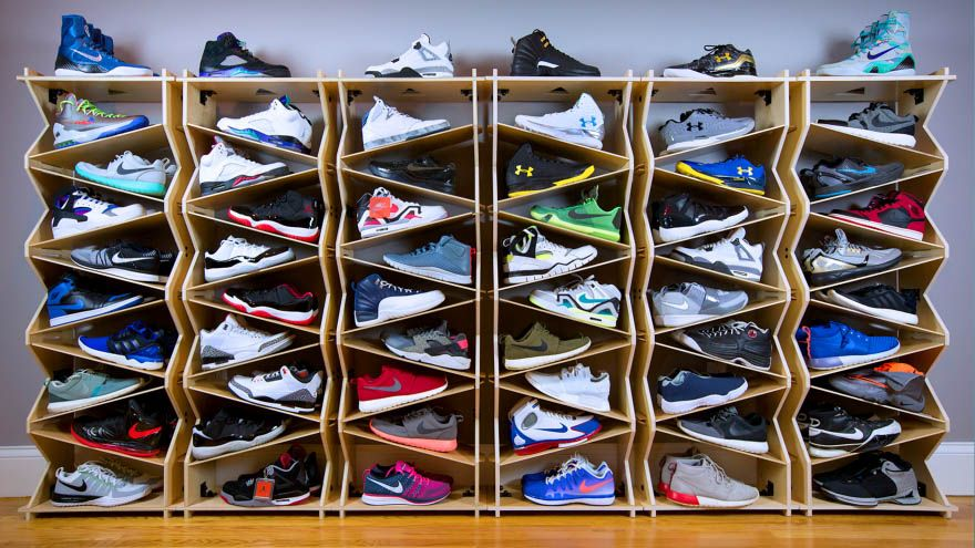 Incredible Shoe Rack Ideas Sneaker Storage Shoe Storage Display