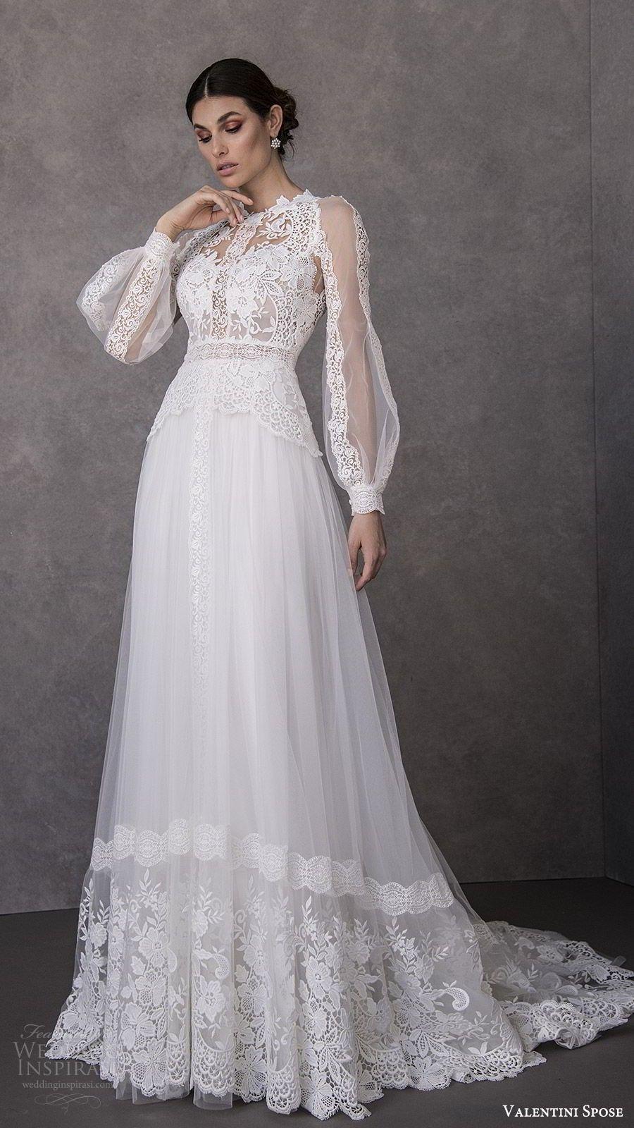 Valentini Spose Spring 20 Brautkleider  Braut, Hochzeit