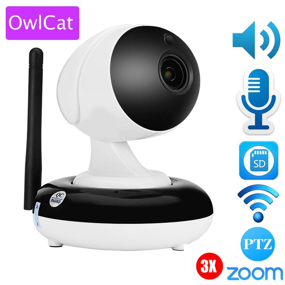 1080P WiFi IP Kamera Security CAM Babyfone Monitor Nachtsicht für iOS//Android