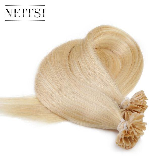 Great Value 4799 Buy Neitsi Straight Keratin Human Fusion Hair